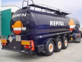 Cisternas de carburante semirremolque