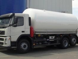 Cisterna Criogénica sobre camión