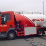 Cisterna de carburante de reparto